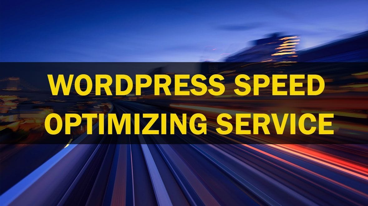 wordpress optimizing service